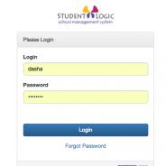 StudentLogic – Users Management Basics