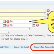 StudentLogic – Report for Accounts